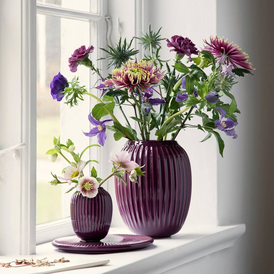 Keramická váza Hammershøi od Kähler
