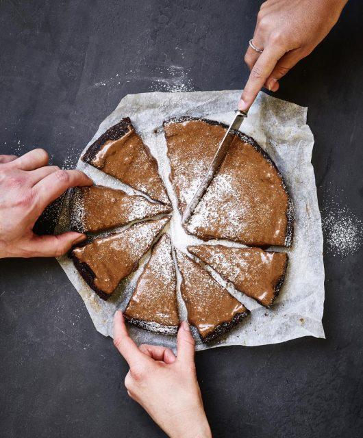 čokoládový koláč na víkend