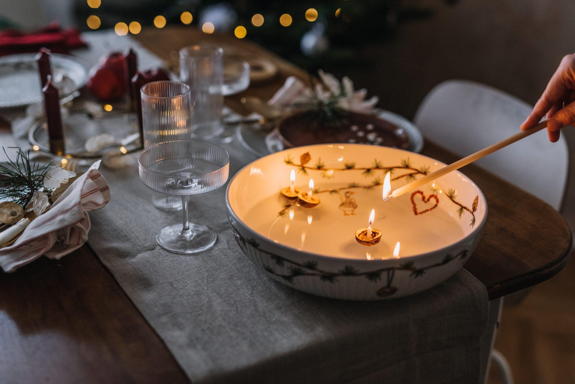 pouštění vánočních lodiček